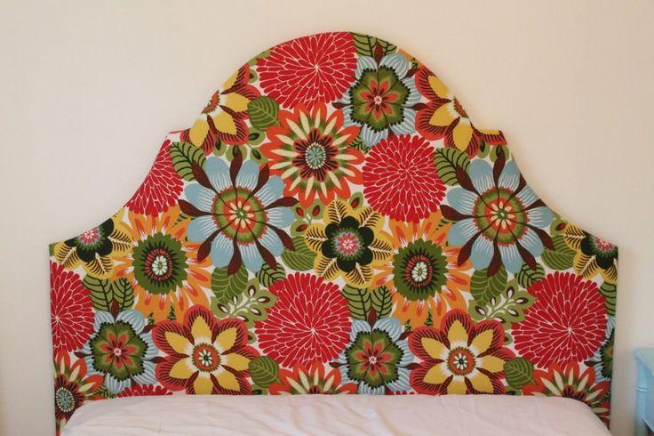 DIY classic shape upholstered headboard