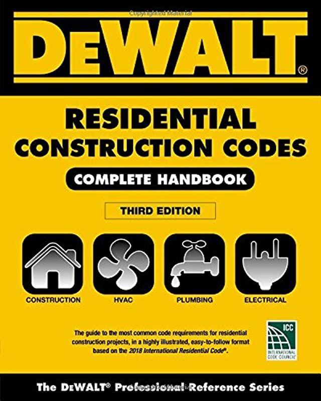 Download Dewalt 2018 Residential Construction Codes Complete Handbook Dewalt Series Author Lynn Underwood Womensfiction Ireadeverywhere Bookstorebing 2020 画像あり
