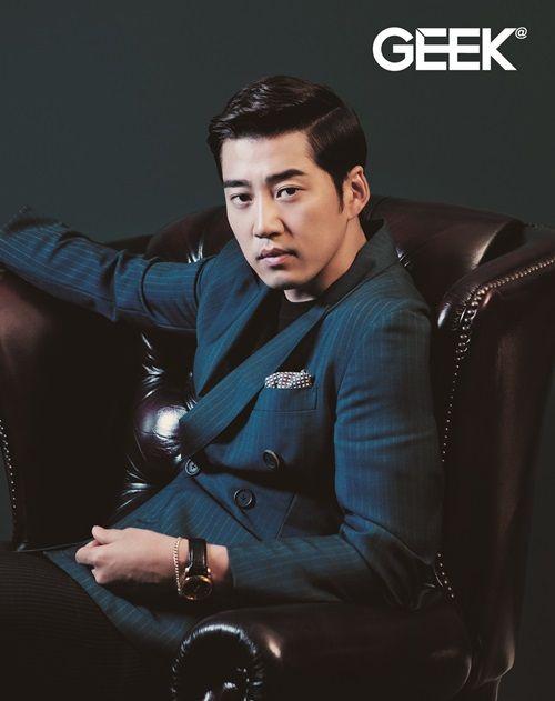 Yoon Kye Sang - Geek Magazine May Issue '14