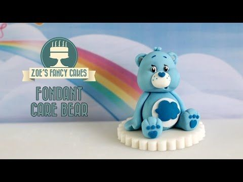 Creating A Fondant Teddy Bear| Minky Kitten Cakes - YouTube