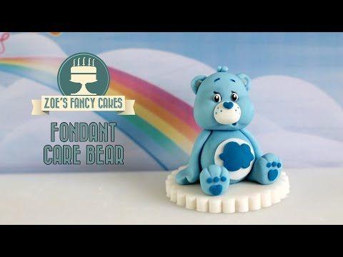 Creating A Fondant Teddy Bear  Minky Kitten Cakes - YouTube