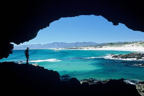 De Kelders Caves, another epic landmark in Gansbaai.  http://www.sharkcagediving.co.za