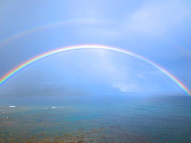 Ah A Whole Parabola Of A Rainbow Nature Pinterest