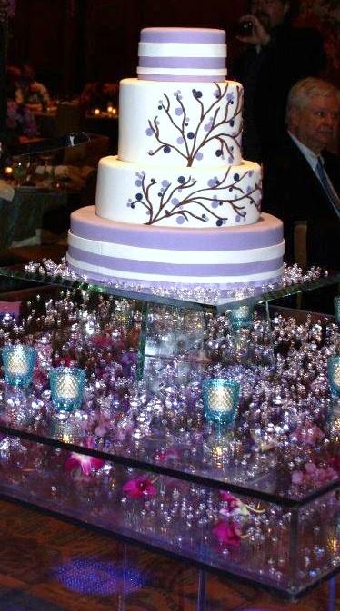 Our wedding cake made by The Flour Garden Memphis,TN