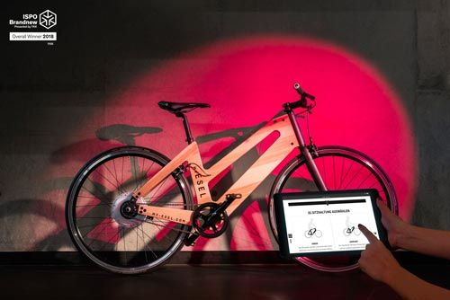 Austrian bicycle brand 'My Esel' is the 'Overall Winner 2018' of the ISPO Brandnew awards. Yesterday, ISPO published the list of winners 2018 of the 'ISPO Brandnew' awards together with the announcement that all eight winners will be exhibited at the upcoming fair ISPO Munich, held from 28 until 31 January 2018. Overall Winner 2018 is the Austrian bicycle brand 'My Esel' (means as much as my donkey and references a beloved, very personal vehicle)...