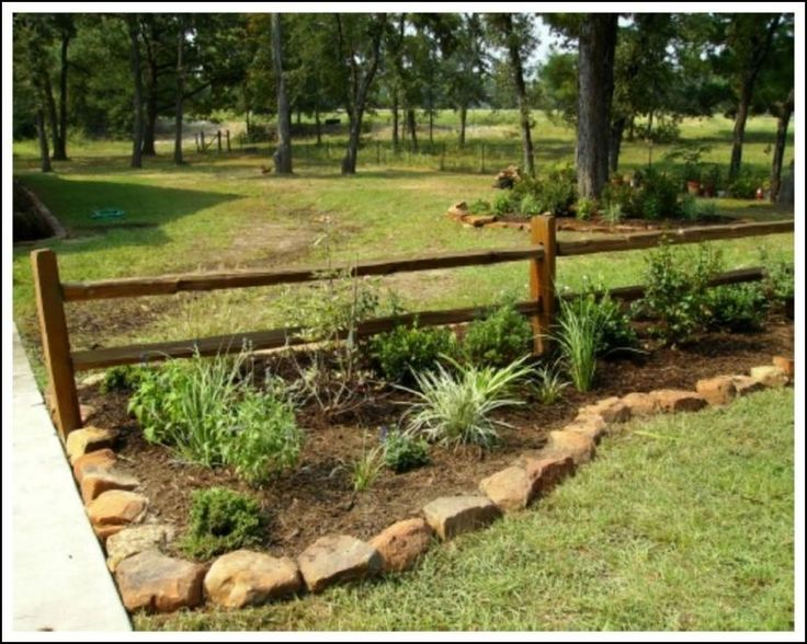 Top 25 best rock border ideas on pinterest stone edging for Rustic landscaping