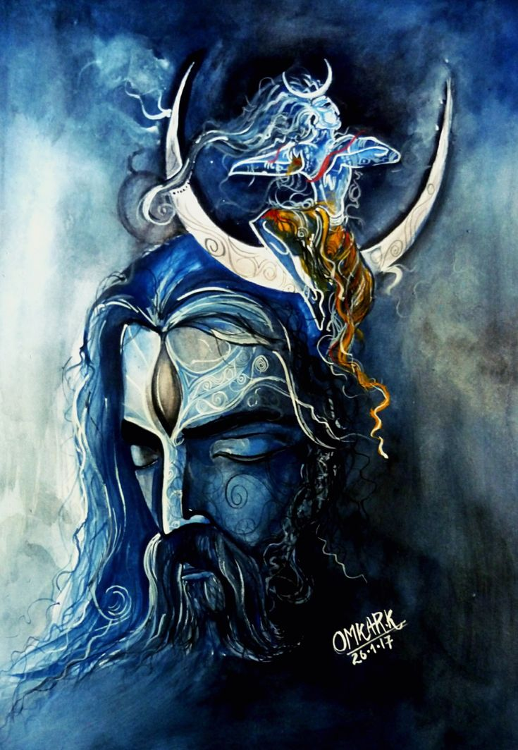 Mahadev Painting - Shiv,god,power