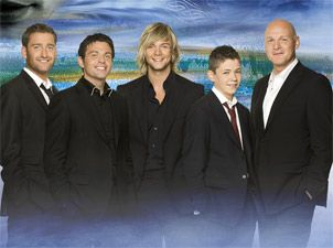 Well, Celtic Thunder isn't exactly a band, but it sure was an experience! Great voices...interesting crowd. :P