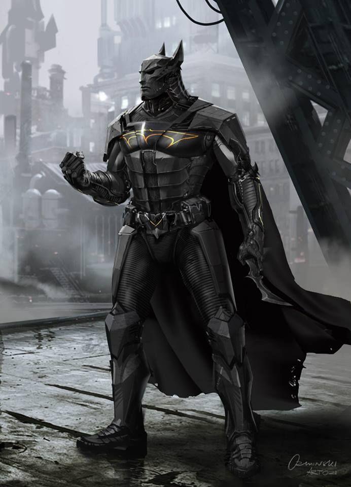 Batman ré-imaginé comme vous ne l'avez jamais vu dans ces 60 concept arts   Design Spartan : Art digital, digital painting, webdesign, ressources, tutoriels, inspiration
