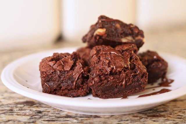 Healthfully Double Chocolate Brownies Desserts Brownie Recipes