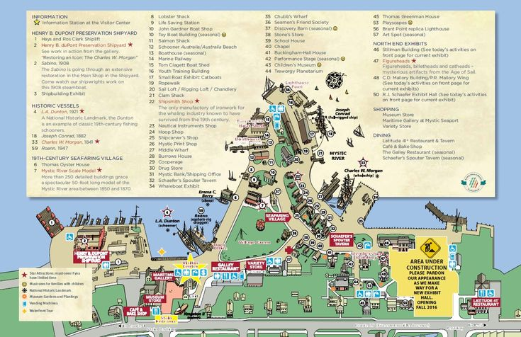 Map | Mystic Seaport