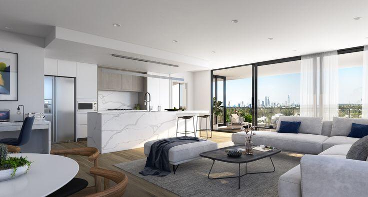 Vantage Dawn | Designed by Ellivo | www.ellivo.com#marble #render #grey #timber #design #architecture