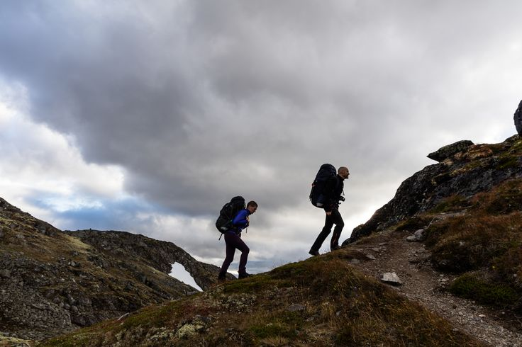 Walking among Jotunheimens beautiful fjords and mountains. #backpacks #trekking #jotunheimen