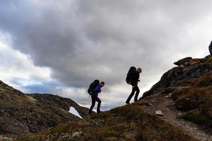 Walking among Jotunheimens beautiful fjords and mountains. #backpacks #trekking #jotunheimen