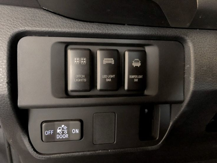 tacoma toyota switch panel oem cali tundra raised led bar switches mount accessory bed 2005 road truck lights caliraisedled 4x4
