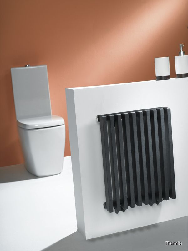 Badkamerradiator Thermic. Showroom Van Wanrooij
