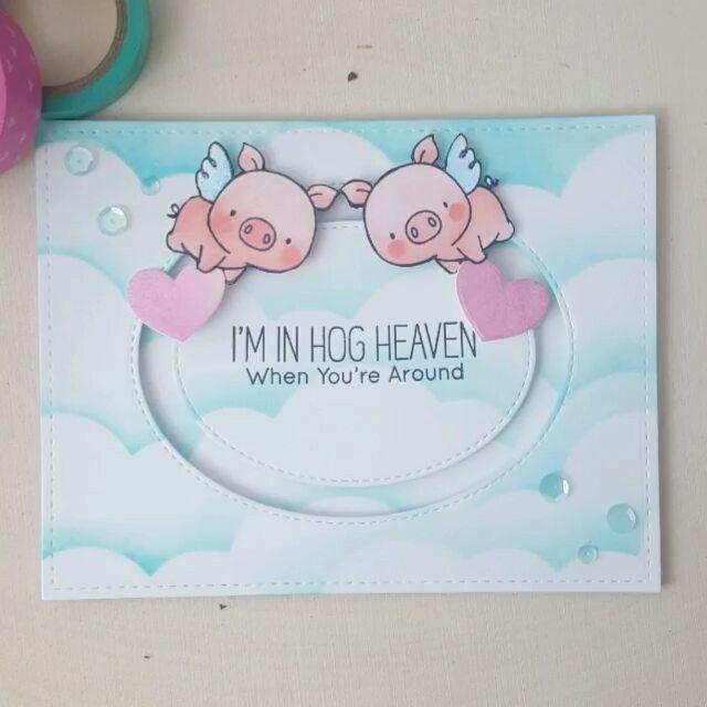 Amy Y   I'm in hog heaven   instagram