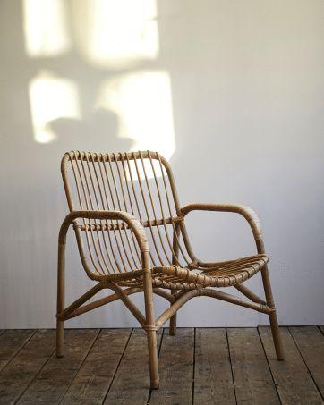 Rattan Lounge Chair | Artilleriet | Inredning Göteborg