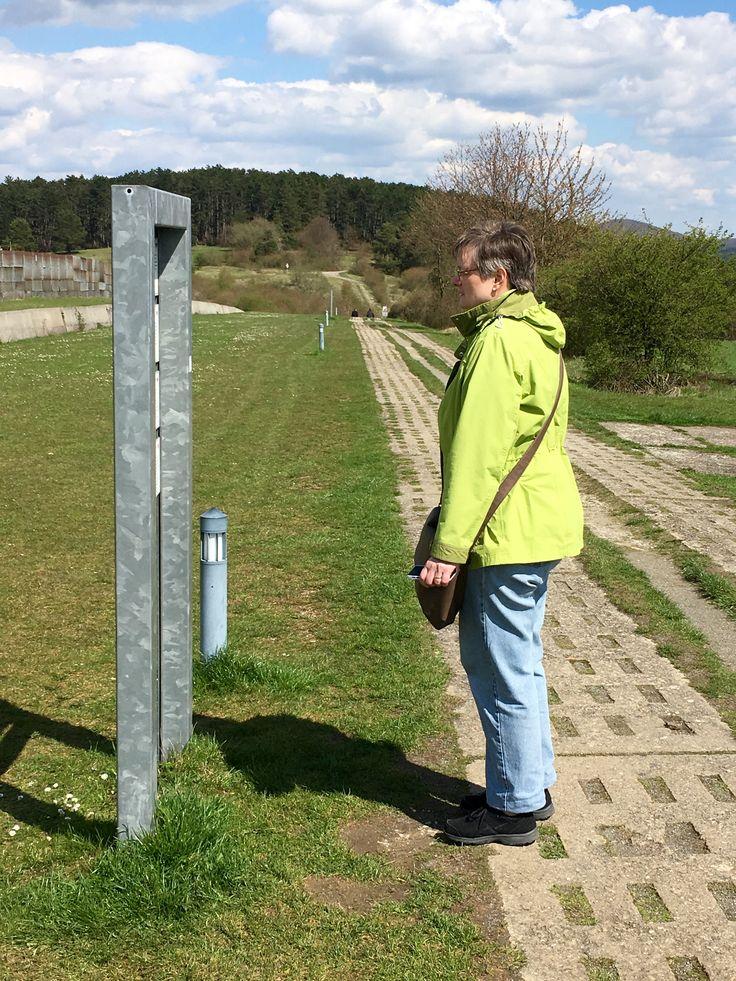 Checkpoint Alpha - entlang der ehemaligen Grenze