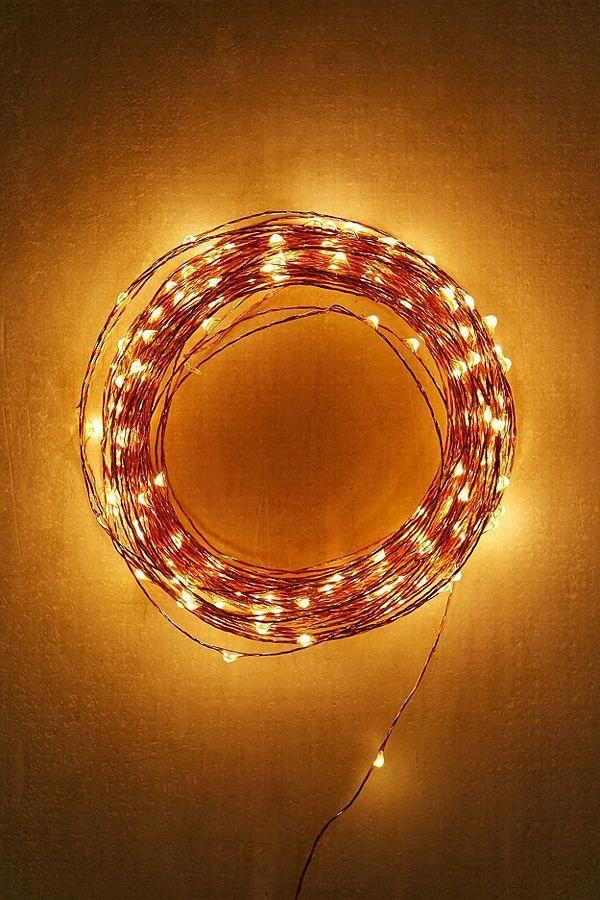 Slide View 3 Extra Long Copper Firefly String Lights Homedecorlights