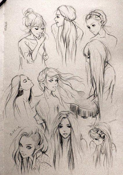 Female sketches