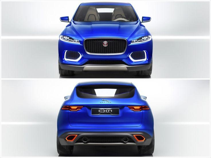 Jaguar C-X17 Sports Crossover Concept.