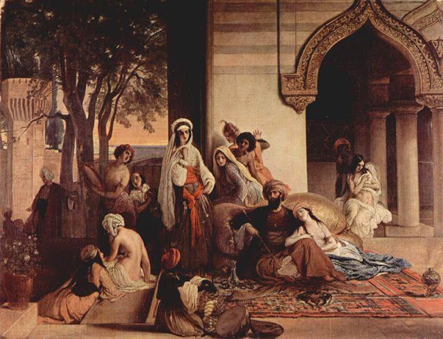 Νέα αγαπημένη / Σκηνή απο ένα χαρέμι (1866)
