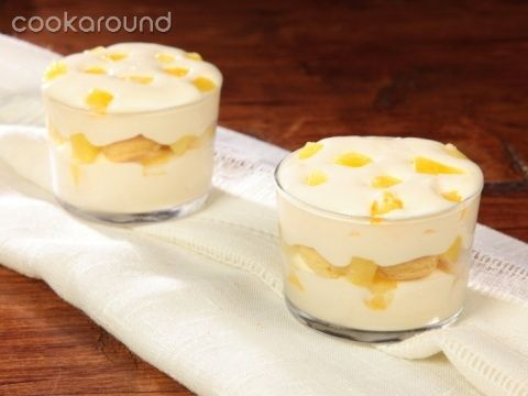 Tiramisù allananas: Ricette Dolci | CookaroundDolci Al Cucchiaio, Pineapple Tiramisù, Desserts Recipes, Sweets Gnaaaaaam, Dolci Delizi, Tiramisù Allanana, First Courses, Dolci Ricette, Tiramisù All Ananas