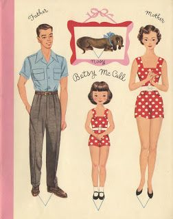 Betsy McCall's Paper Doll Story Book