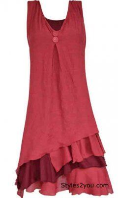 Pretty Angel Clothing Two Piece Knit Top In Dark Red