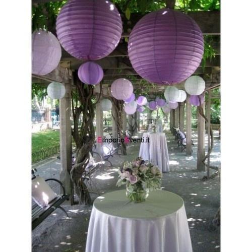 Addobbi lanterna di carta da appendere DECORAZIONI FESTE MATRIMONIO COMPLEANNO