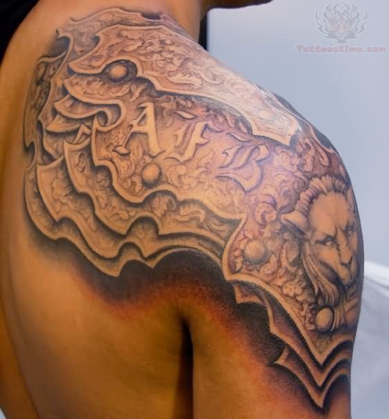 celtic armor shoulder tattoo - Google Search