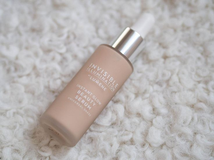 Invisible Illunation Nordic Glow Beauty Serum has a perfect neutral and universal tone, says Blogger Sonja Alexandra. #lumene