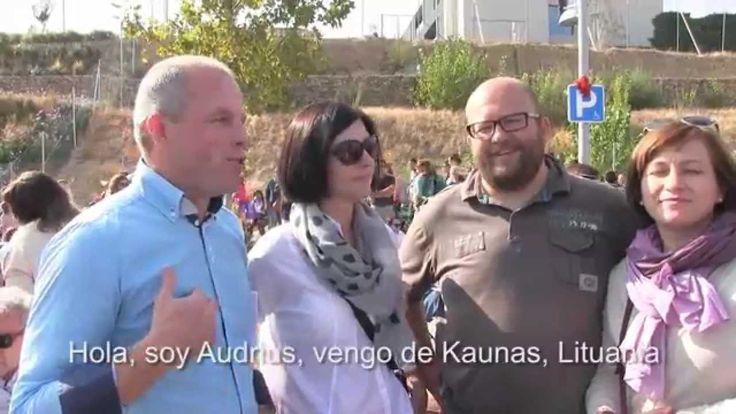 Lituanos devotos de Álvaro del Portillo