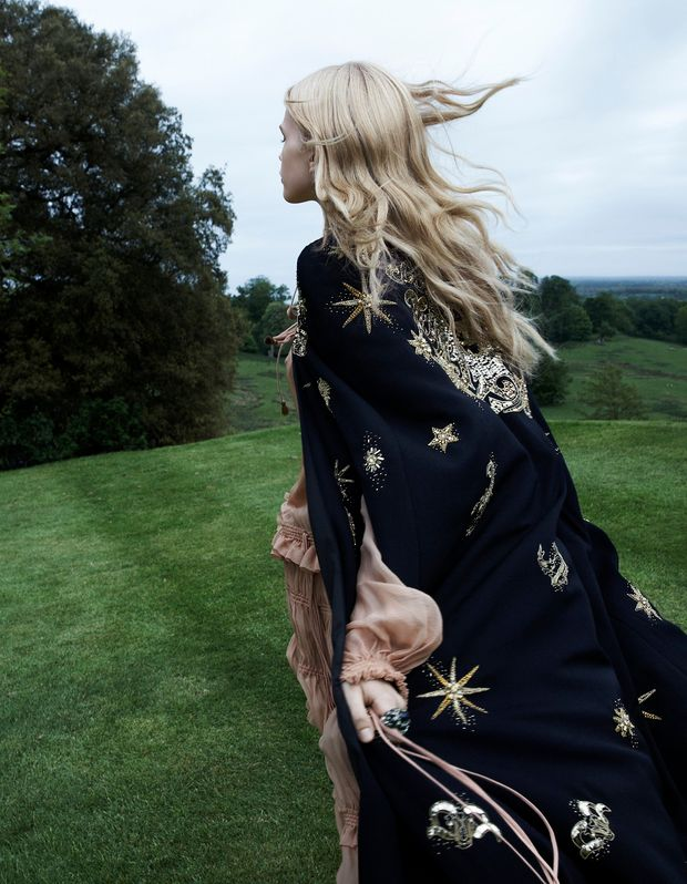 Run free in this celestial inspired kimono x