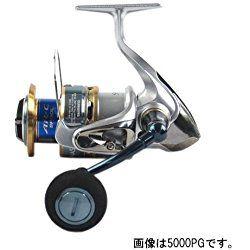 Shimano BIOMASTER 5000 SW-A PG 4.8 - Carrete de pesca (para caña de spinning, agua salada)