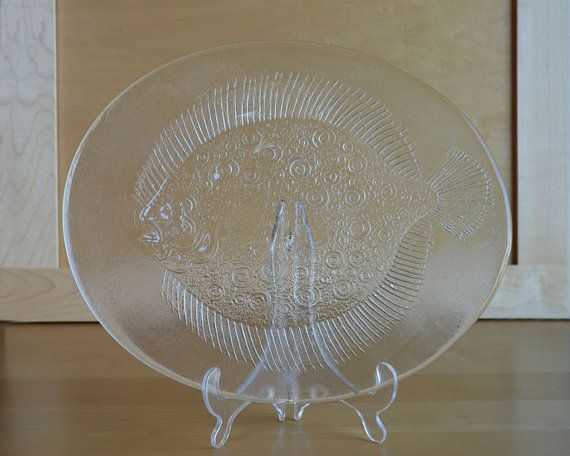 Kosta Boda Fish Platter Designed by Goran Warff by DishingItUp