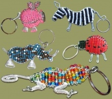 african-corporate-gifts-beaded-keyrings