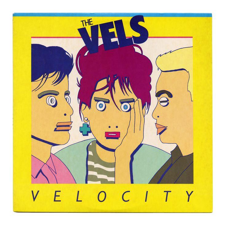Velocity The Vels Mercury Records/USA (1984) Illustration by Frank Olinsky