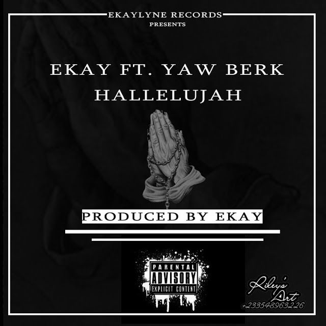 "Download: E Kay Ft Yaw Berk - Halleluyah (prod by Ekay)   Here we gothe long awaited song from the Brong Ahafo's finest beat maker cum Singer ""Ekay"" featuring 2016 MTN hitmaker contestant ""Yaw Berk"" is finally out. This song is entitled Halleluyah and was produced by Ekay of Ekaylyne recordsEnjoy. E Kay Ft Yaw Berk-Halleluyah (prod by Ekay)[DOWNLOAD] Gospel Hi-Life Music Downloads"