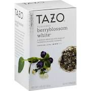 Tazo White Tea, Berryblossom - 20 count, 1.06 oz box