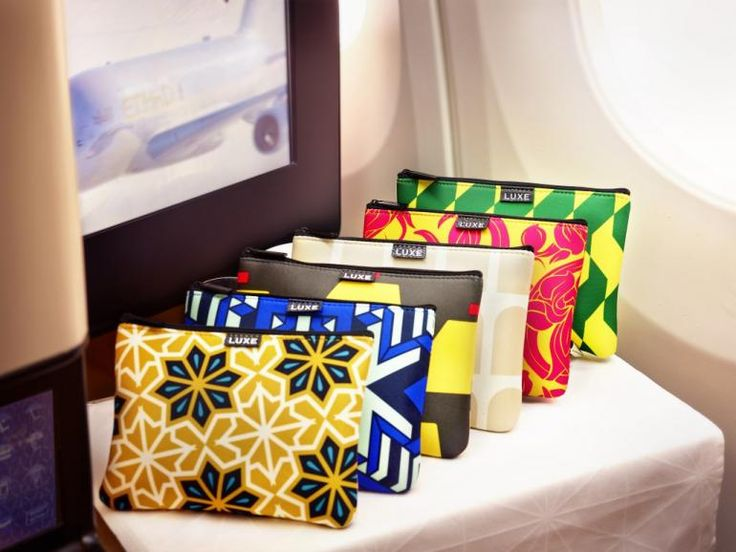Etihad Business Class Amenity Kit