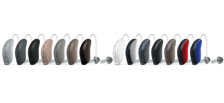 ReSound LiNX2 - Available in a variety of colors to suit your personality and lifestyle