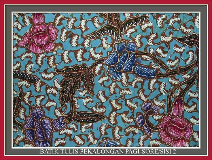 Batik Yulis Pekalongan Pagi_Sore/Sisi II