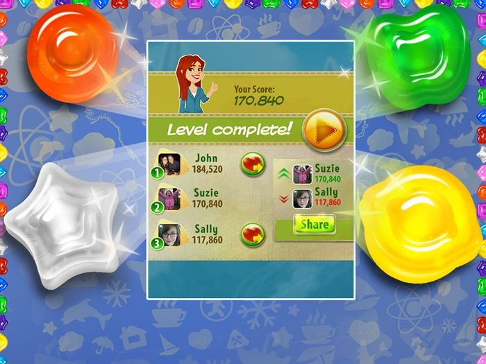 Hit Mobile Game Gummy Drop! Comes To PC On The Big Fish Website - Review by 2 Wired 2 Tired #GummyDrop