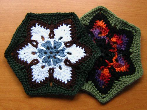 starflower hexagon pattern FREE ravelry download. So nice, thanks so for sharin' xox