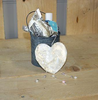 Scrub-badzout-zeeppakketje met een speciaal hart voor je moeder!