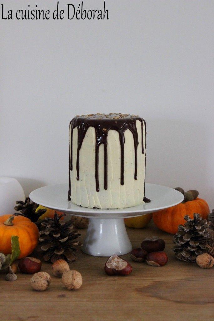 Gateau moelleux chocolat vanille