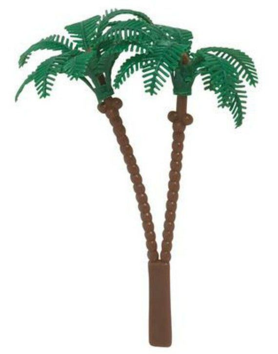 Bag of 12 ~ Palm Tree Picks ~ Cake Cupcake Topper by Oasis Supply