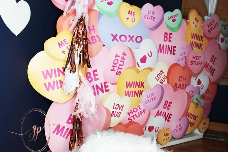 Love Is Sweet Valentine's Day Party  | CatchMyParty.com